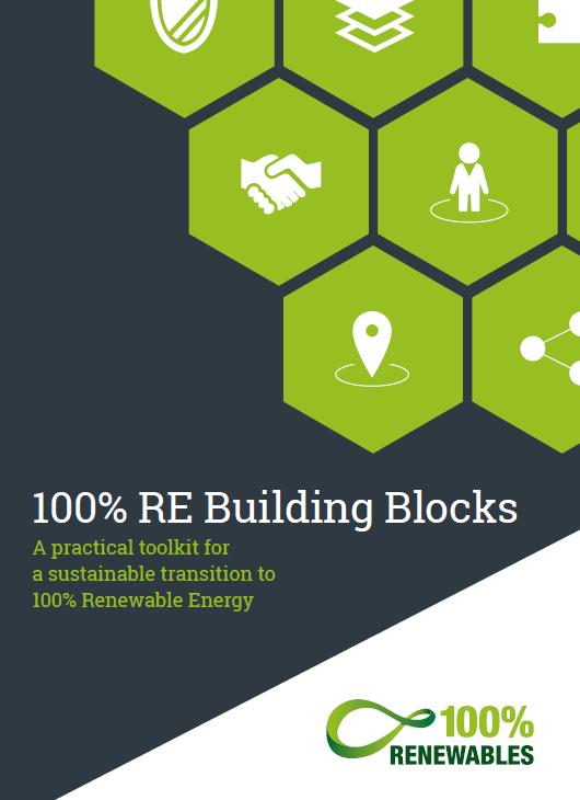 百分之百再生能源建置積木