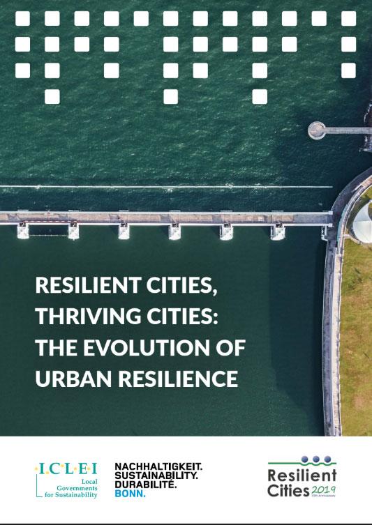 「韌性城市 ‧ 生生不息的城市」:韌性城市的演進